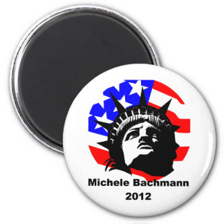 Michele Bachmann 2 Inch Round Magnet