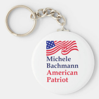 Michele Bachmann American Patriot Keychain