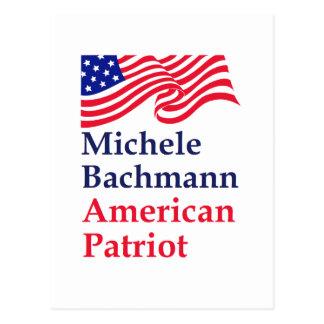 Michele Bachmann American Patriot Postcard