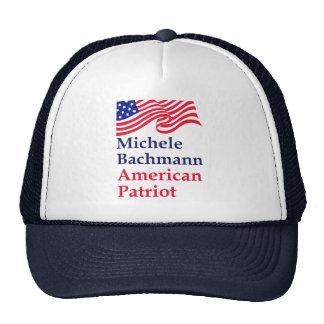 Michele Bachmann American Patriot Trucker Hat
