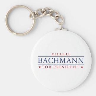 Michele Bachmann Basic Round Button Keychain