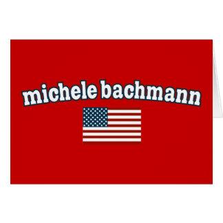 Michele Bachmann for America Card