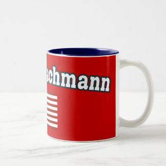 Michele Bachmann for America Two-Tone Coffee Mug