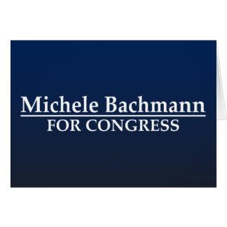 Michele Bachmann for Congress Card