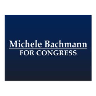 Michele Bachmann for Congress Postcard