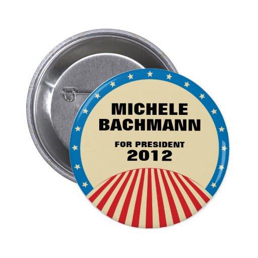 Michele Bachmann for President 2012 Button