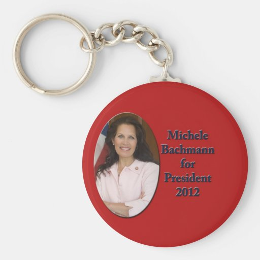 Michele Bachmann for President 2012 Keychain