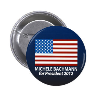 Michele Bachmann for President 2012 Pinback Button