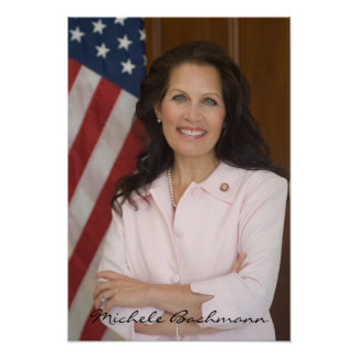 Michele Bachmann for President 2012 Political Gear Poster