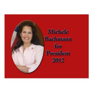 Michele Bachmann for President 2012 Postcard
