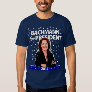 Michele Bachmann for President. 2012. Tshirts