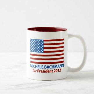 Michele Bachmann for President 2012 Two-Tone Coffee Mug