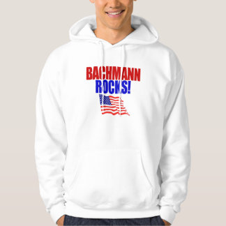 Michele Bachmann for President Bachmann Rocks! Hoodie