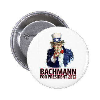 Michele Bachmann for President Bachmann Rocks! Pinback Button