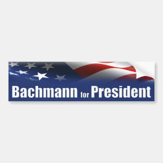 Michele Bachmann for President Bumper Sticker