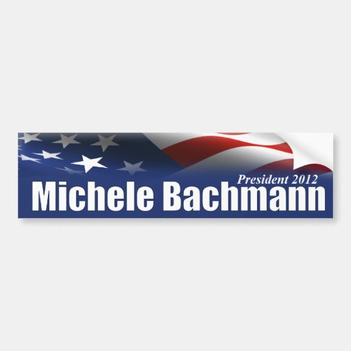 Michele Bachmann for President Car Bumper Sticker