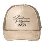 Michele Bachmann for President Hats