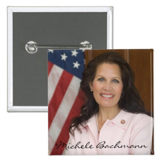 Michele Bachmann Photo Keepsake Pinback Button