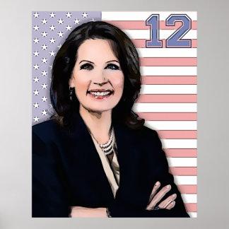 Michele Bachmann President 2012 Poster