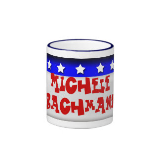 Michele Bachmann Ringer Coffee Mug