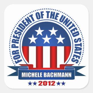 Michele Bachmann Square Sticker