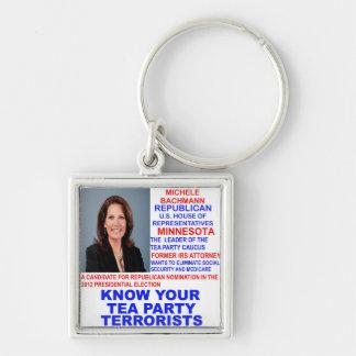 Michele Bachmann, Tea Party Terrorist Keychain
