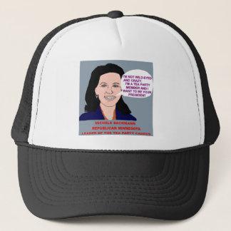 Michele Bachmann Wild-Eyed Tea Party Leader Trucker Hat