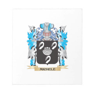 Michele Coat of Arms - Family Crest Memo Note Pad