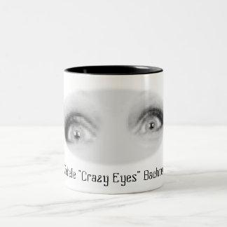 "Michele ""Crazy Eyes"" Bachmann Two-Tone Coffee Mug"