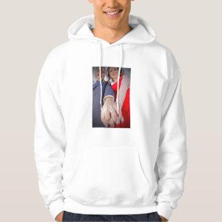 Michele & Joseph wedding hoodie