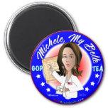 Michele, My Belle 2 Inch Round Magnet