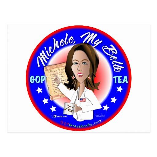 Michele, My Belle Postcard