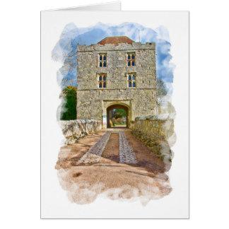 Michelham Priory Gatehouse Card