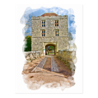 Michelham Priory Gatehouse Postcard