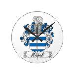 Micheli Family Crest Clock