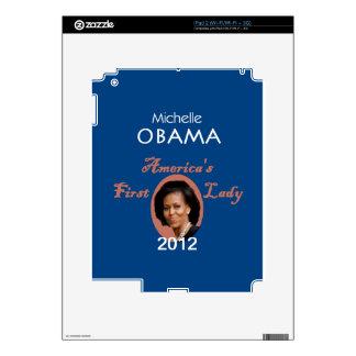 MICHELLE 2012 iPad 2 SKIN