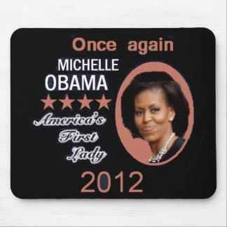 Michelle 2012 mouse pad