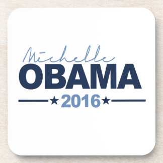 MICHELLE 2016 CAMPAIGN SIGN - png Drink Coasters
