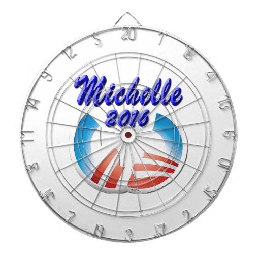 Michelle 2016 dart board