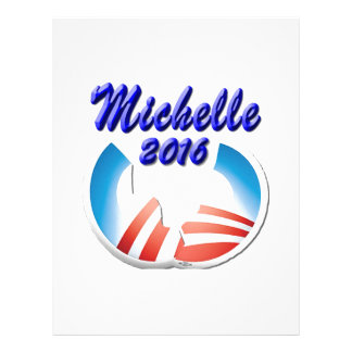 Michelle 2016 membrete a diseño