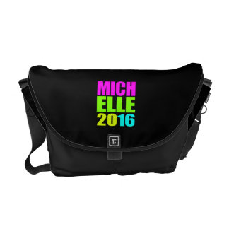 MICHELLE 2016 NEON.png Messenger Bag