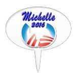 Michelle 2016 oval cake picks