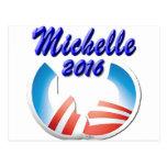 Michelle 2016 postcard