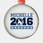 MICHELLE 2016 ROUND DONKEY -.png Ornament