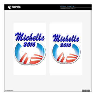 Michelle 2016 decal for kindle fire