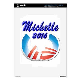 Michelle 2016 iPad 3 skin