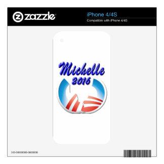 Michelle 2016 iPhone 4 skin