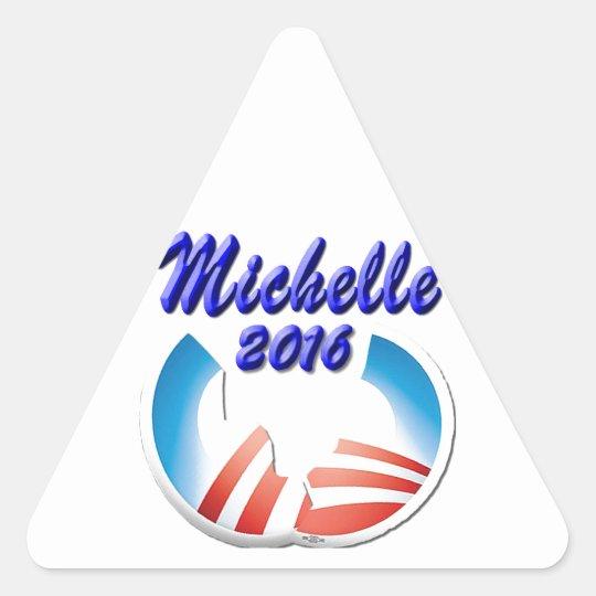 Michelle 2016 triangle sticker