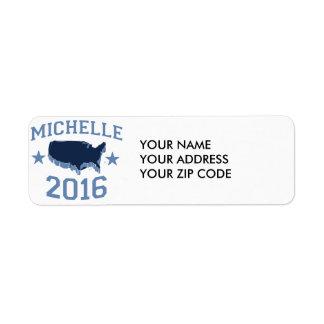 MICHELLE 2016 UNITER.png Etiqueta De Remite