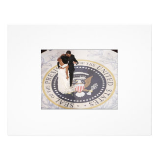 Michelle and Barack Obama Flyer
